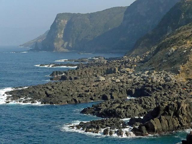 川尻岬溶岩