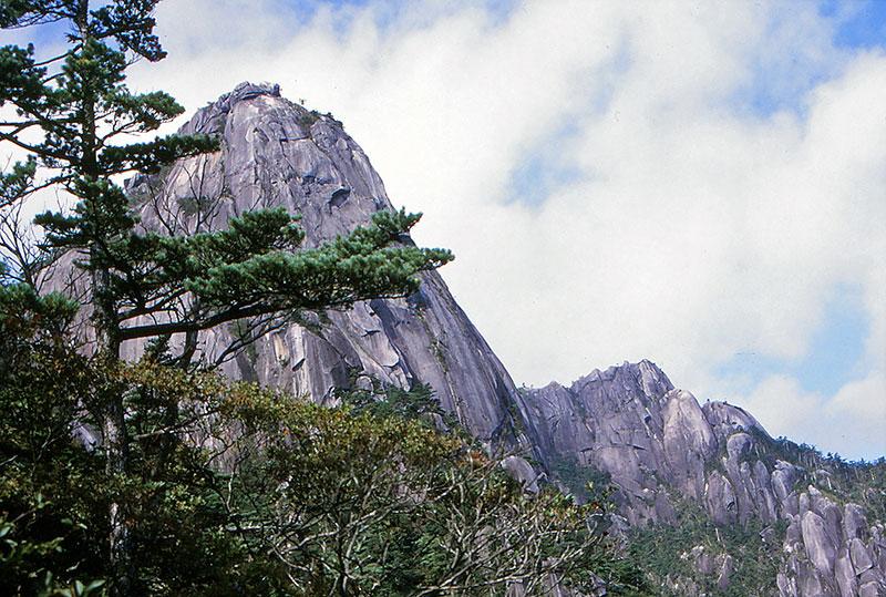 大崩山花崗岩